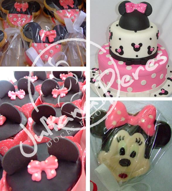 Festa Infantil Minnie Rosa e Vermelha - Decoração e Artigos